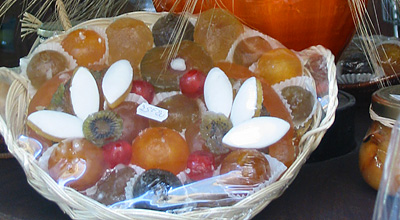 candied fruit luberon